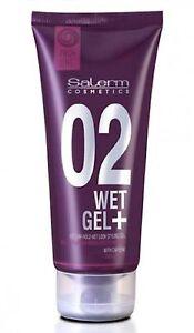 Salerm Proline 02 Wet Gel Plus 7.2 Oz/205 ml.- Medium Hold (Group of 3)