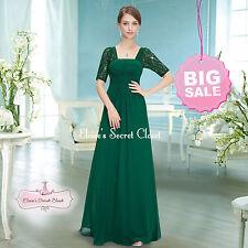 Chiffon Square Neck Formal Maxi Dresses for Women