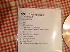 Rell The Remedy Promo CD album sampler hosted by DJ Clue