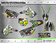 Kawasaki KX 250f KXf 2004 2005 graphics decals kit Moto StyleMX