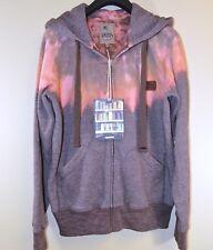 PRPS Brown and Orange Tie Dye Galaxy Sweatshirt Hoodie Size: Medium MSRP $224