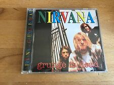Nirvana ‎– Grunge Is Dead  (Seattle Sounds) ‎RARE SSCD001 CD Germany 1994