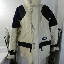 Killer Loop Men's Snowboard Jacket Coat Snow Board Sz M Ivory/Black Nylon
