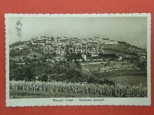 MONDOVI' piazza panorama generale Cuneo vecchia cartolina