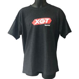 Makita XGT T Shirt XL Grey Red White Logo