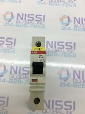 ABB S281 K2A Circuit Breaker single pole DIN Mount