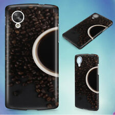 BEANS BEVERAGE CAFFEINE CAPPUCCINO HARD BACK CASE COVER FOR NEXUS PHONES