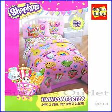 SHOPKINS TWIN COMFORTER SUPER SOFT