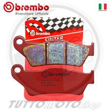 1 COPPIA PASTIGLIE FRENO BREMBO ROSSE SINTER BMW R1200S 2003 2004 POSTERIORI