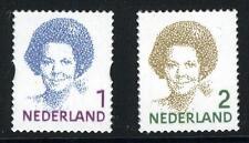 Nederland 2730-2731 zelfklevende Beatrix zegel 2010 gestanst