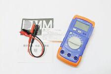 Digital LCD Capacitance Capacitor Meter Tester Multimeter 20mF To 200pF A6013L