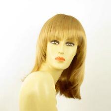 Perruque femme mi-longue blond doré BABETTE 24B
