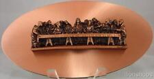 Copperama Last Supper Wall Plaque 3-D Copper Art