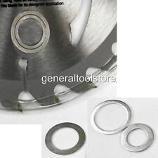 """Lame scie circulaire réduction Espaceur anneaux 30mm pour 25,4 1 """" 22.23 7/8"""" 20 16mm ob44"""