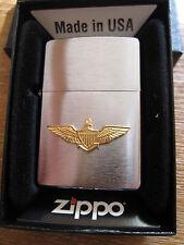 Zippo naval aviator Wings US Army USMC vmf-214 marines vietnam Navy WWII wk2 OVP