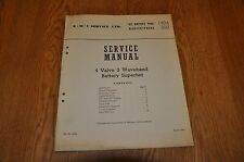 Marconiphone Model 892 His Masters Voice 1404 Genuine Service Manual