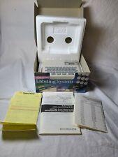 Vintage Micronta Electronic Labeling System Label Maker 63 647 Tested Excellent