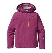 Patagonia Women's Taille M Primo Goretex Veste de ski rose