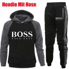 BOSS Herren Sport Set Trainingsanzug Hosen Hoodie Fitnessanzug Freizeithose Suit