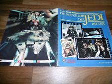 FIGURINE PANINI SAMMELBILDER-ALBUM -- STAR WARS // RÜCKKEHR der JEDI RITTER 1983