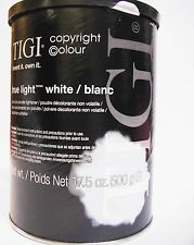 Poudre Décolorante TIGI  True Light White  neuf  500g