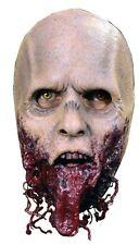 Para Hombre Adulto Zombie Máscara The Walking Dead Bloody Walker Latex Halloween Scary Nuevo