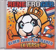 Rene Froger-Bloed Zweet En Tranen Promo cd single