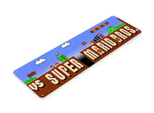 TIN SIGN Super Mario Bros Arcade Shop Game Room Marquee Console Metal A636