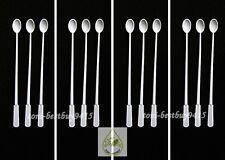 "12 pcs 5"" Micro Spoon for Feeder Food Guppy Tetra Killifish and Small Fish"