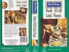 WALT DISNEY DARBY O'GILL AND HIS LITTLE PEOPLE RARE VIDEO PAL VHS A RARE FIND~