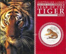 2010 Australia $1 Tiger 1oz Silver Specimen  NO REASONABLE OFFER WILL BE REFUSED