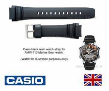 Genuine Casio Watch Strap Band AMW-710, AMW710, AMW 710 Casio Marine Gear Watch