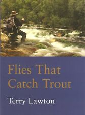 LAWTON TERRY FISHING & FLYTYING BOOK FLIES THAT CATCH TROUT paperbck BARGAIN new