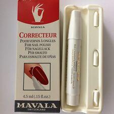 Mavala CORRECTEUR PENNA CORREGGI SMALTO CON PUNTE RICAMBIO 4,5ML NAIL BEAUTY