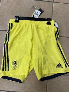 Adidas Nashville SC Authentic Soccer Shorts Size 2XL