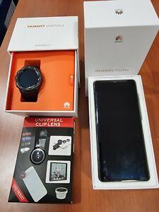 Huawei P30 Pro - 128GB/8GB - Negro (Dual Sim) (Libre) con Huawei Watch 2 4G