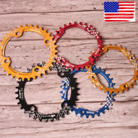 US SNAIL 6Colors 104BCD 30-42t Round/Oval Cycling MTB Bike Crankset Chainring