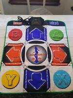 GameStop Lets Dance DDR Dance Dance Revolution Pad Mat Sony PS2 Game Cube Fun