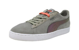 PUMA 50 Suede Classic X Pigeon Jeff Staple Gray Peach Lace Up Sneakers Men Shoes