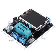 Gran LCD GM328A Probador negro del transistor ESR Voltage Frequency Meter