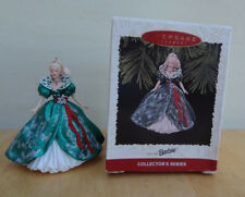 Hallmark Ornament 1995 Holiday Barbie Third in Series Mib Nice!