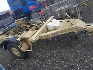 Trailer Chassis - Ex military - Heavy Duty
