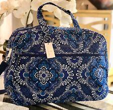 VERA BRADLEY GRAND TRAVELER BAG BLUE TAPESTRY - NWT $149
