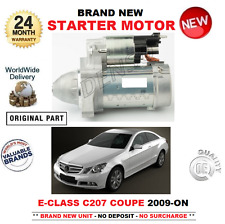 FOR MERCEDES BENZ E CLASS C207 COUPE STARTER MOTOR 2009-> E220 E250 CDi BlueTEC