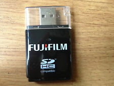 BRAND NEW FUJIFILM SD/SDHC COMPATIBLE CARD READER