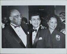 Brookins, Casey Kasem (Music Historian), Gloria Dawkins ORIGINAL PHOTO HOLLYWOOD