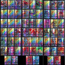 Gifts 200 Stück Pokemon 195GX+5MG Karte Alle MEGA Holo Flash Art Trading Cards