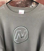 VTG 90's NIKE White Tag Men's XL Crewneck Sweatshirt Made in USA Travis Scott 2X