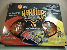 Hexbug Warriors Battle Stadium with Battling Robots CALDERA VS TRONIKON  New
