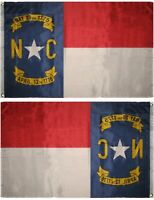 3x5 State of North Carolina Flag 3'x5' Grommets Banner Indoor Outdoor Polyester